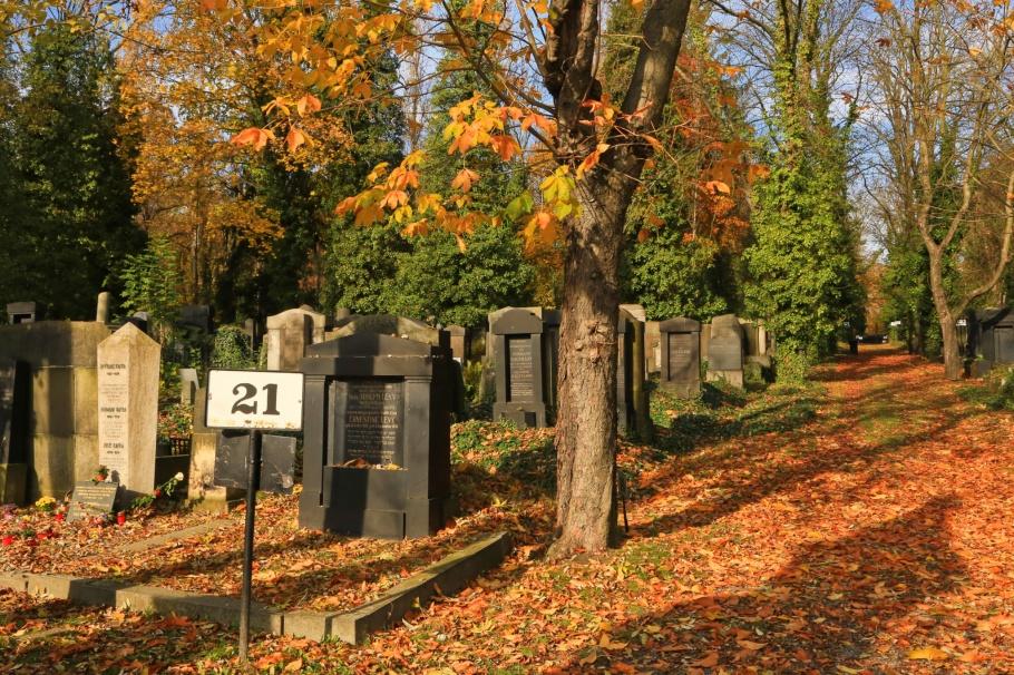 Franz Kafka grave, Franz Kafka, Nový židovský hřbitov, New Jewish Cemetery, Olšany Cemetery, Olšanské hřbitovy, Prague, Prag, Praha, Czech Republic, fotoeins.com