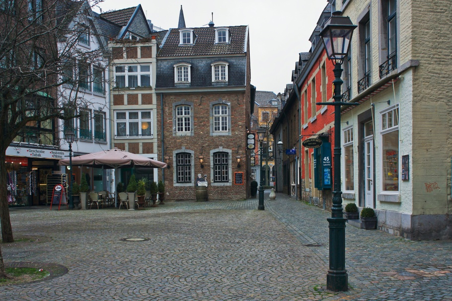 Münsterplatz, Aachen, North Rhine-Westphalia, Nordrhein-Westfalen, Germany, UNESCO World Heritage Site, fotoeins.com
