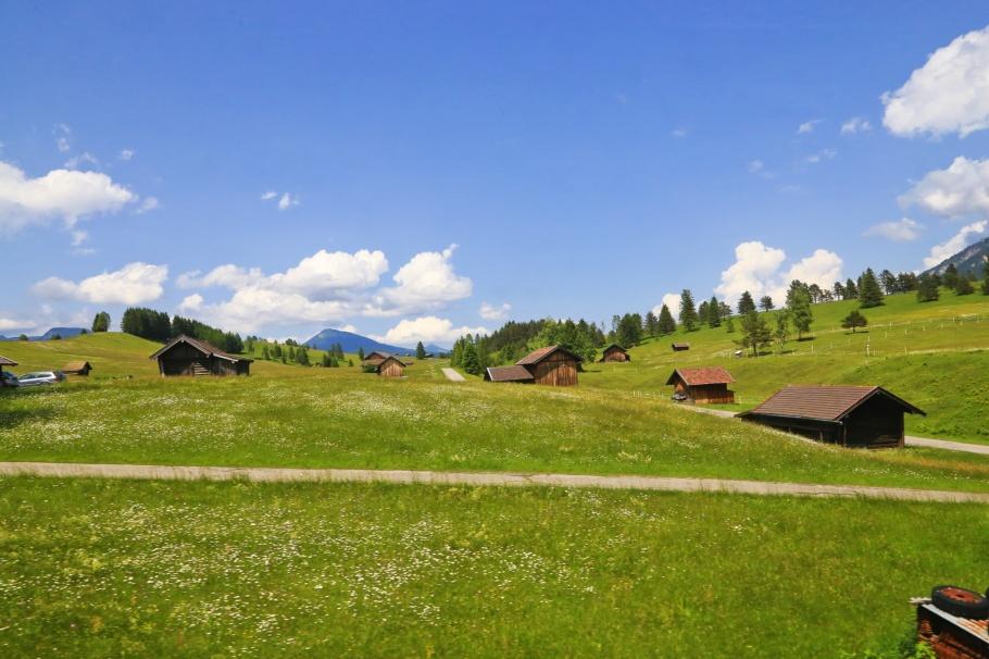 Buckelwiesen, Mittenwald, Oberbayern, Bayern, Deutschland, Upper Bavaria, Bavaria, Germany, Werdenfelser Land, fotoeins.com
