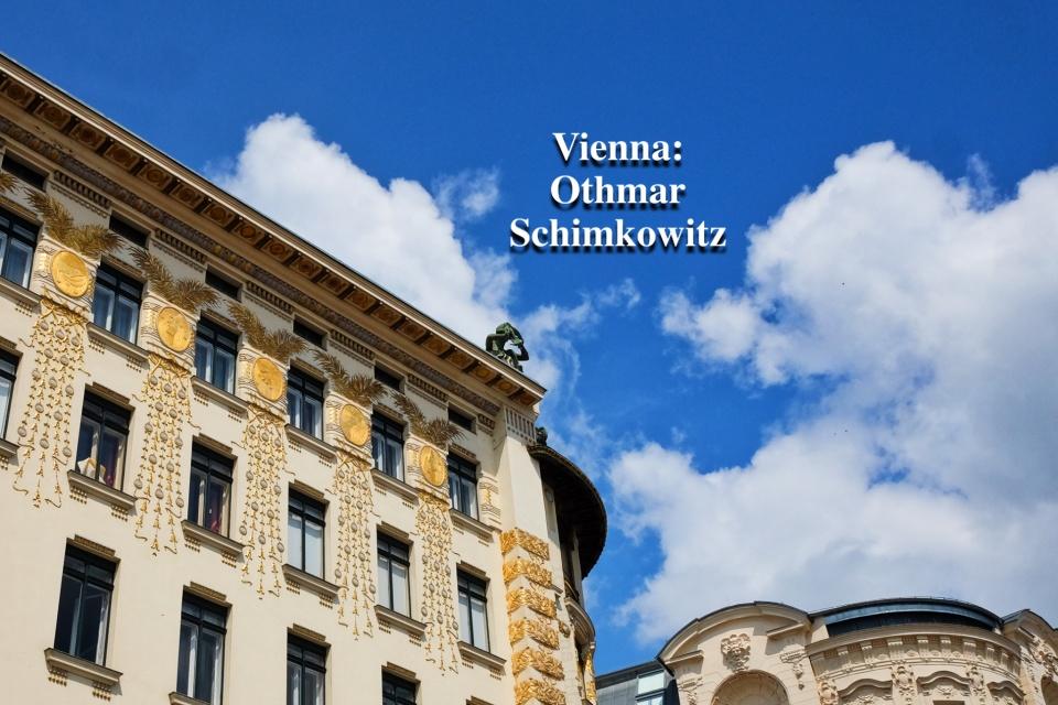 Othmar Schimkowitz, Musenhaus, Medaillonshaus, Linke Wienzeile 38, Otto Wagner, Vienna Modernism, Wiener Moderne, Wien, Vienna, Oesterreich, Austria, fotoeins.com
