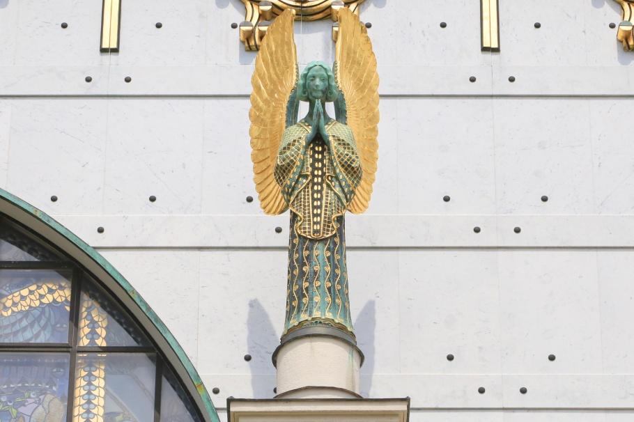 Kirche am Steinhof, Steinhof Church, Church of St. Leopold, Otto Wagner Spital, Baumgartner Hoehe, Otto Wagner, Vienna Modernism, Wiener Moderne, Wien, Vienna, Oesterrich, Austria, fotoeins.com
