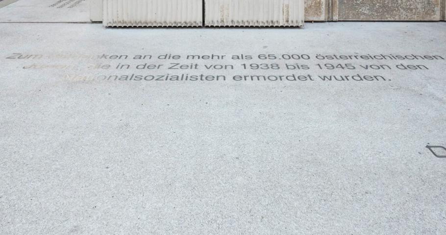 Holocaust memorial, Nameless Library, Rachel Whiteread, Judenplatz, Vienna, Wien, Austria, Oesterreich, fotoeins.com