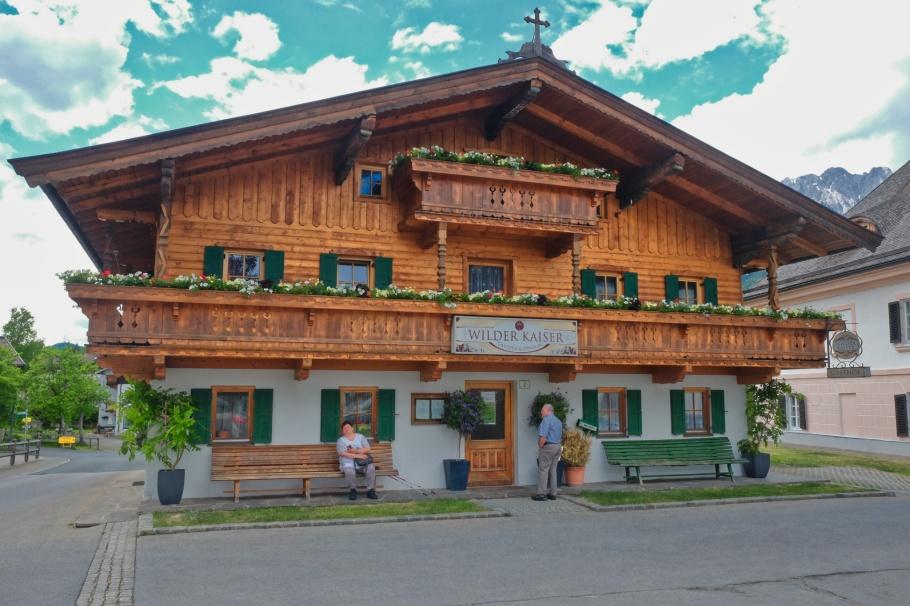 Wilder Kaiser Gasthof und Pension, Der Bergdoktor, Going am Wilder Kaiser, Going, Wilder Kaiser, Tirol, Tyrol, Austria, Oesterreich, fotoeins.com