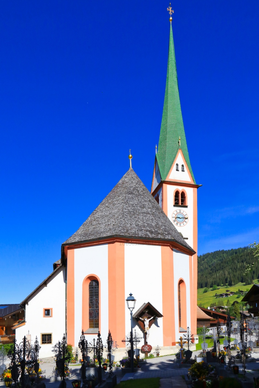 Pfarrkirche St. Oswald, St. Oswald, parish church, Alpbach, Alpbachtal, Alpbach Seenland, Tirol, Tyrol, Austria, Oesterreich, fotoeins.com