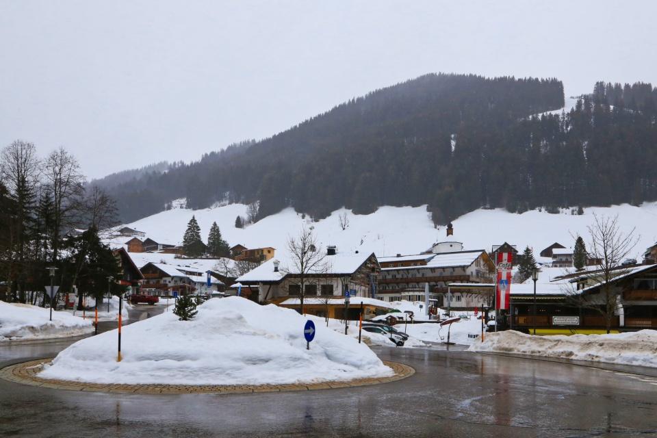 End L201, Baad, Kleinwalsertal, Vorarlberg, Österreich, fotoeins.com
