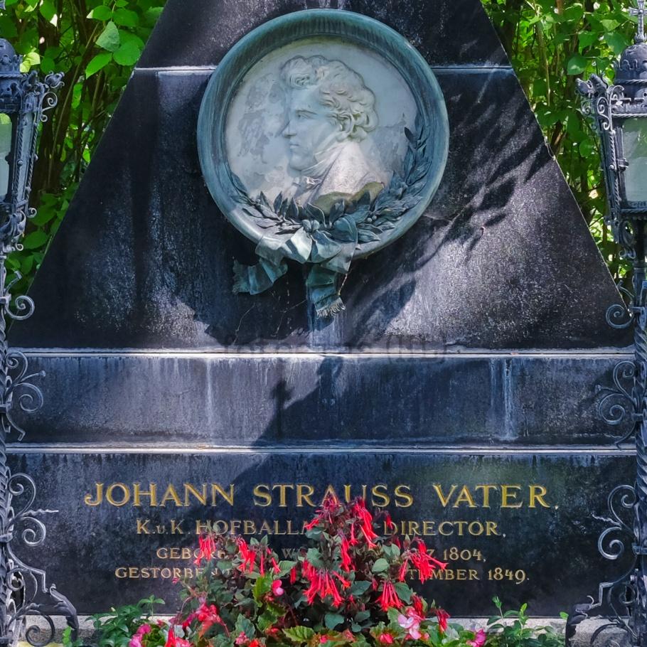 Johann Strauss I, Wiener Zentralfriedhof, Wien, Vienna, Austria, Österreich, fotoeins.com