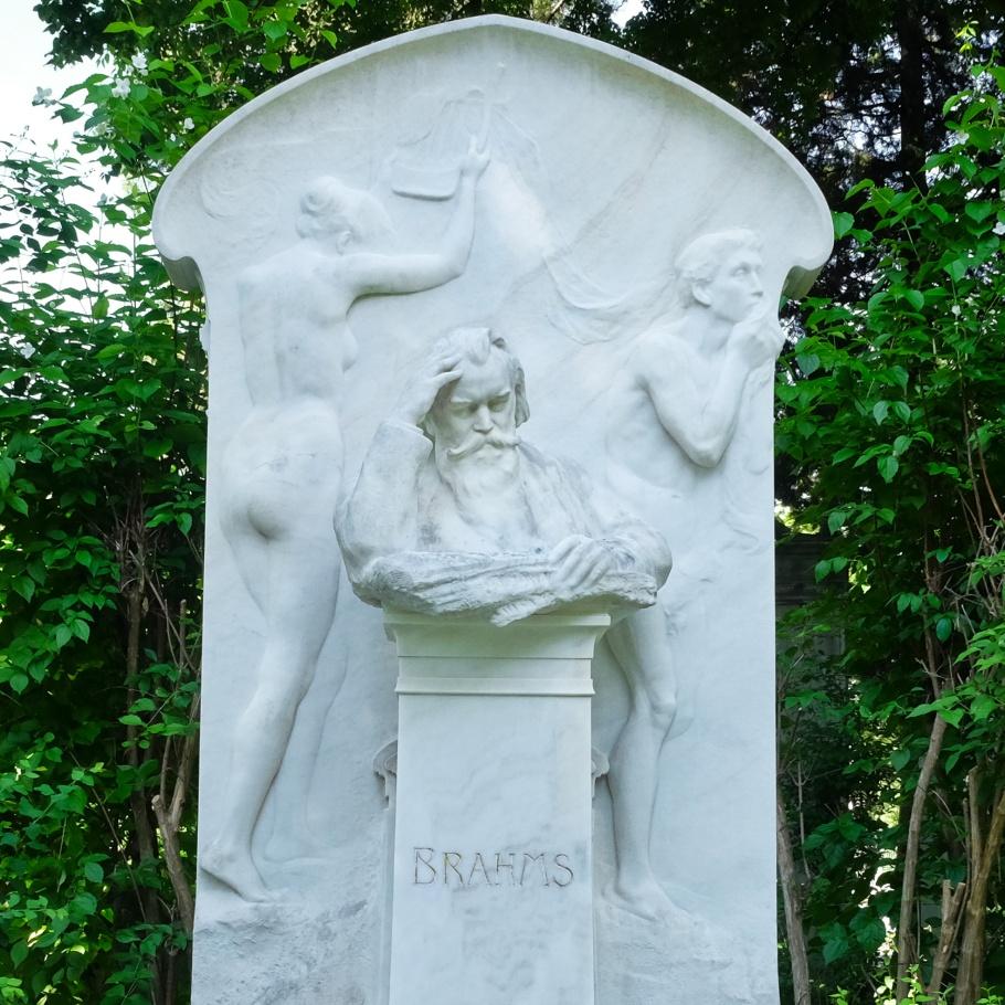 Johannes Brahms, Wiener Zentralfriedhof, Wien, Vienna, Austria, Österreich, fotoeins.com