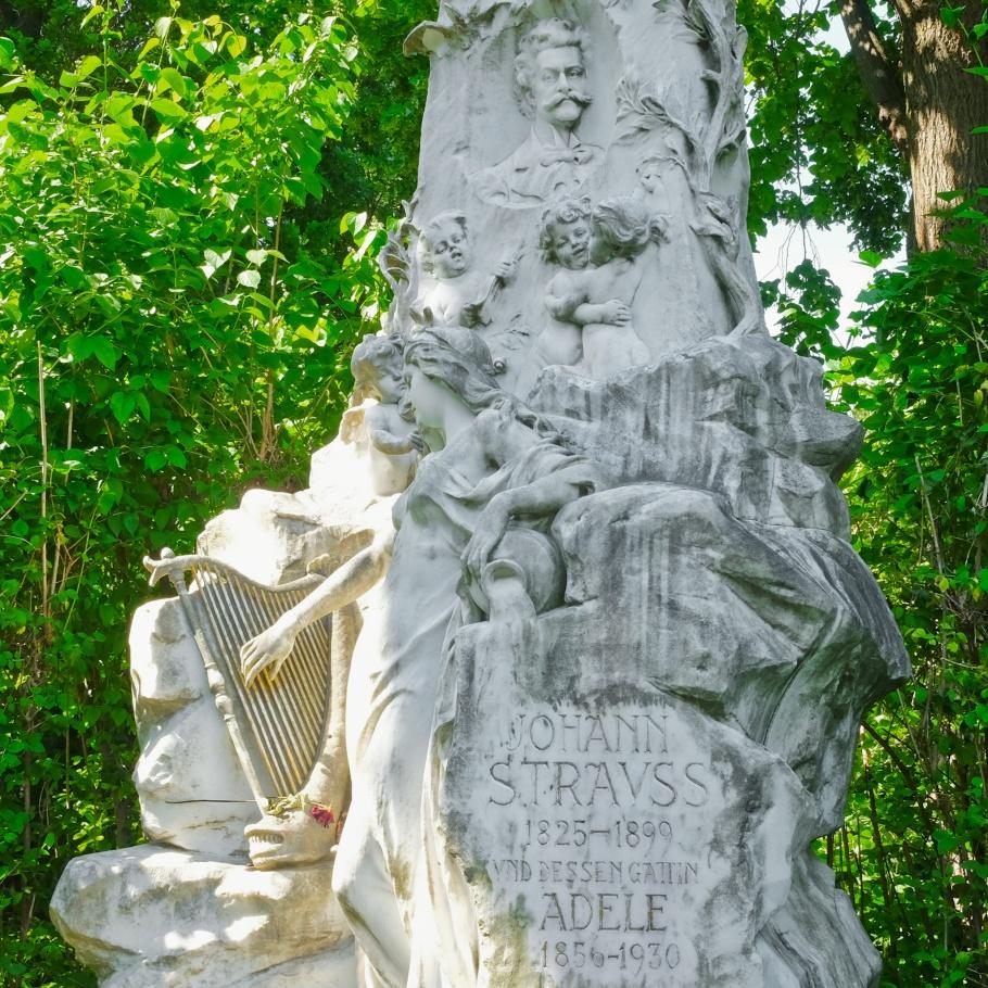 Johann Strauss II, Wiener Zentralfriedhof, Wien, Vienna, Austria, Österreich, fotoeins.com