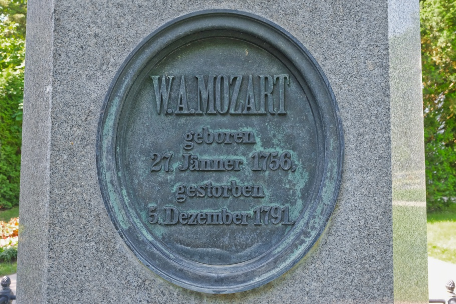 Wolfgang Amadeus Mozart, Wiener Zentralfriedhof, Wien, Vienna, Austria, Österreich, fotoeins.com