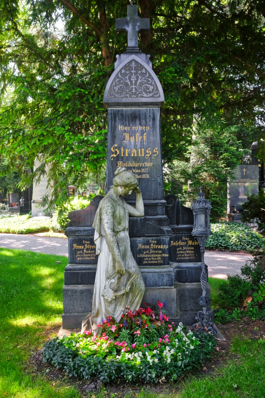 """Josef """"Pepi"""" Strauss, Wiener Zentralfriedhof, Wien, Vienna, Austria, Österreich, fotoeins.com"""