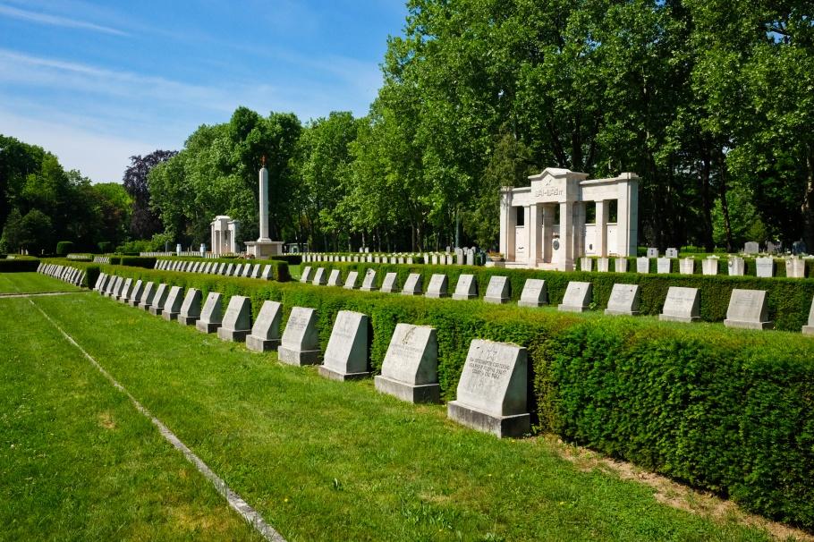Sowjetische Kriegsgräber, Soviet Red Army WW2 soldiers, Wiener Zentralfriedhof, Wien, Vienna, Austria, Österreich, fotoeins.com