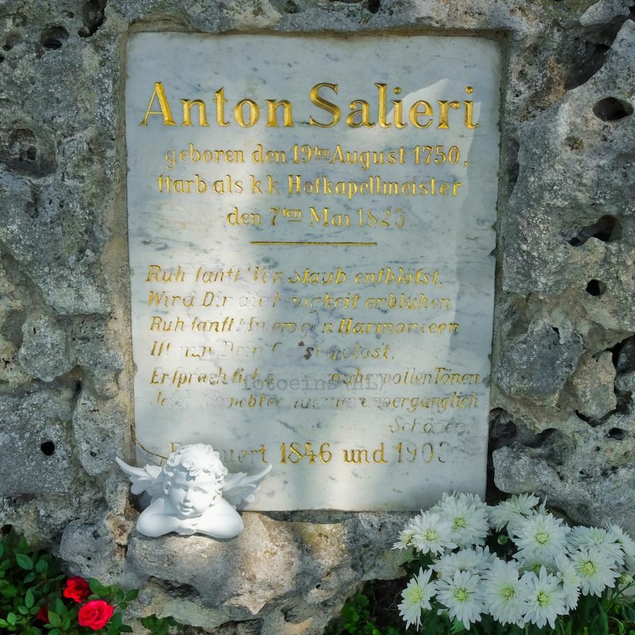 Antonio Salieri, Wiener Zentralfriedhof, Wien, Vienna, Austria, Österreich, fotoeins.com