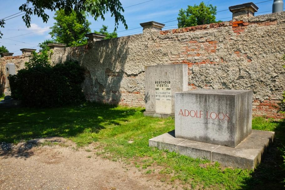 Adolf Loos, Wiener Zentralfriedhof, Wien, Vienna, Austria, Österreich, fotoeins.com