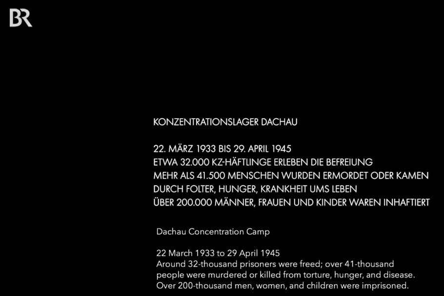 BR, Bayerischer Rundfunk, BR Fernsehen, Doku KL Dachau, Dachau