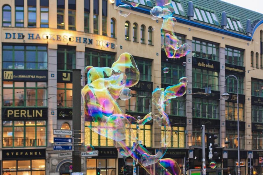 Die Hackeschen Höfe, Hackescher Markt, Berlin, Hauptstadt, Germany, fotoeins.com