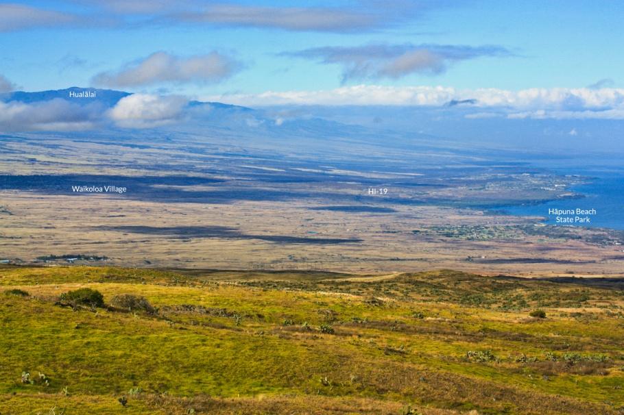 Kohala Mountain Road, Hualalai volcano, Puako, Waikoloa Village, Big Island, Hawaii, USA, fotoeins.com