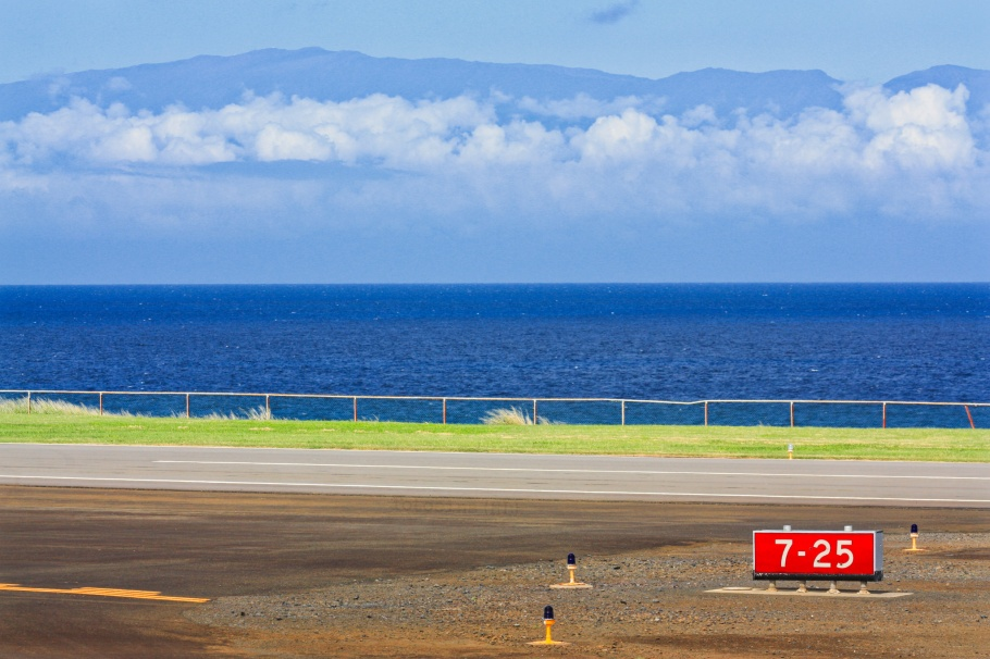Upolu Airport, Maui, Haleakala, Pacific Ocean, Big Island, Hawaii, USA, fotoeins.com