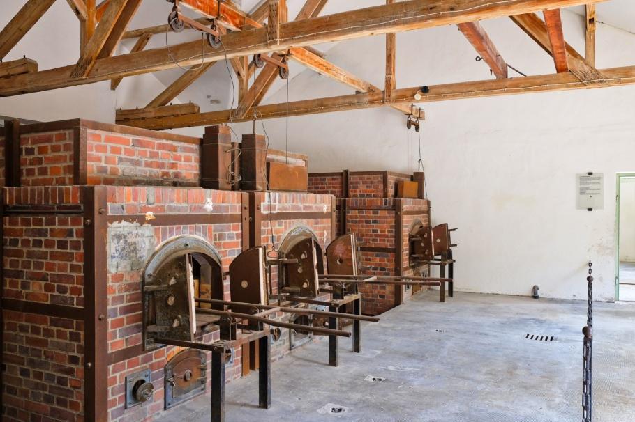 Crematorium no. 2, KZ-Gedenkstätte Dachau, KZ Dachau, Dachau Concentration Camp Memorial Site, Dachau, Bavaria, Bayern, Germany, Deutschland, fotoeins.com