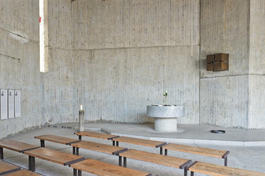Chapel, Evangelische Versöhnungskirche, Protestant Reconciliation Church, KZ-Gedenkstätte Dachau, KZ Dachau, Dachau Concentration Camp Memorial Site, Dachau, Bavaria, Bayern, Germany, Deutschland, fotoeins.com