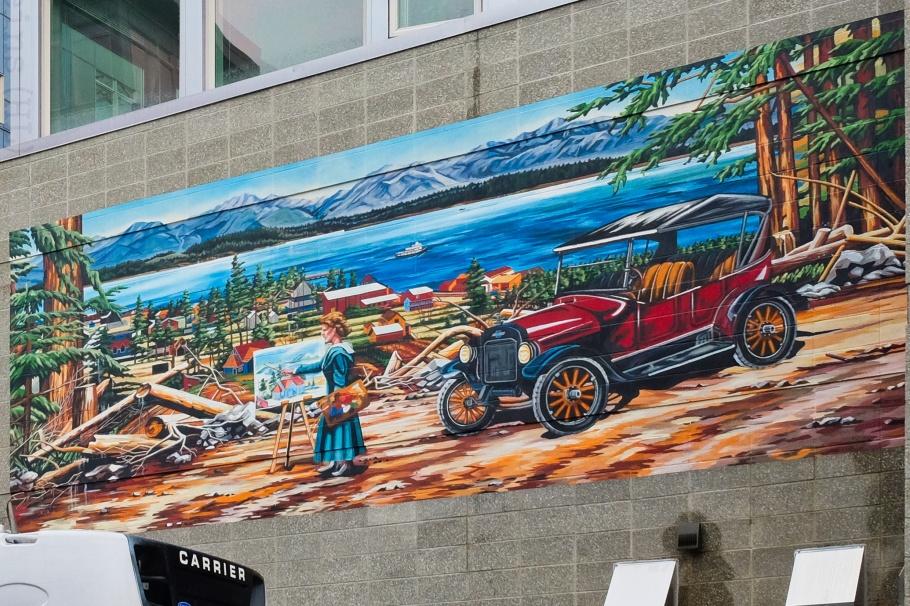 Alki in the Twenties, Bruce Rickett, West Seattle, Seattle, Washington, USA, fotoeins.com