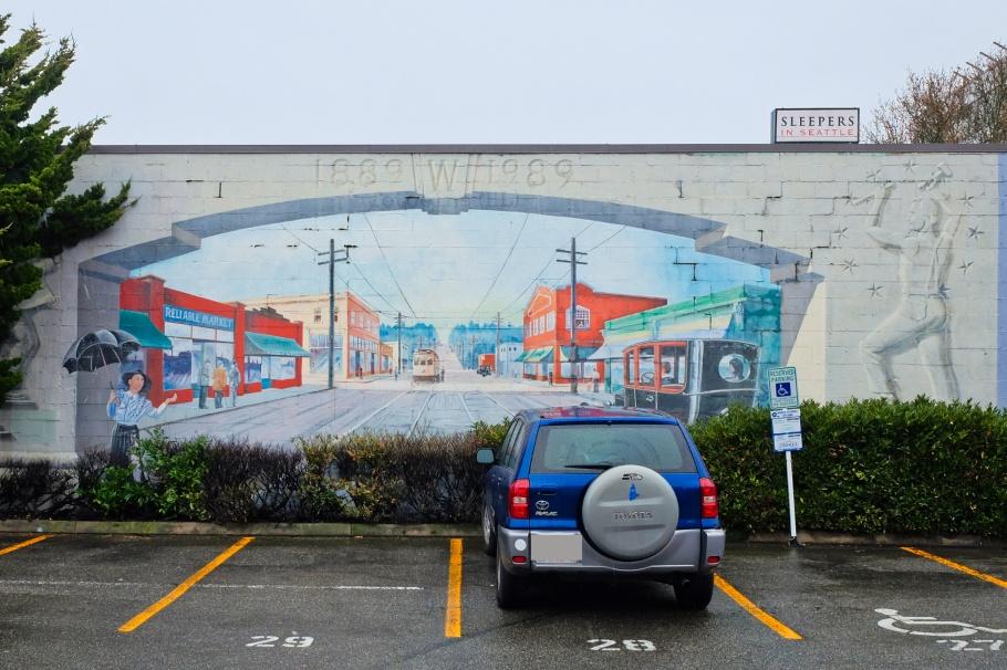 The Junction, Eric Grohe, West Seattle, Seattle, Washington, USA, fotoeins.com