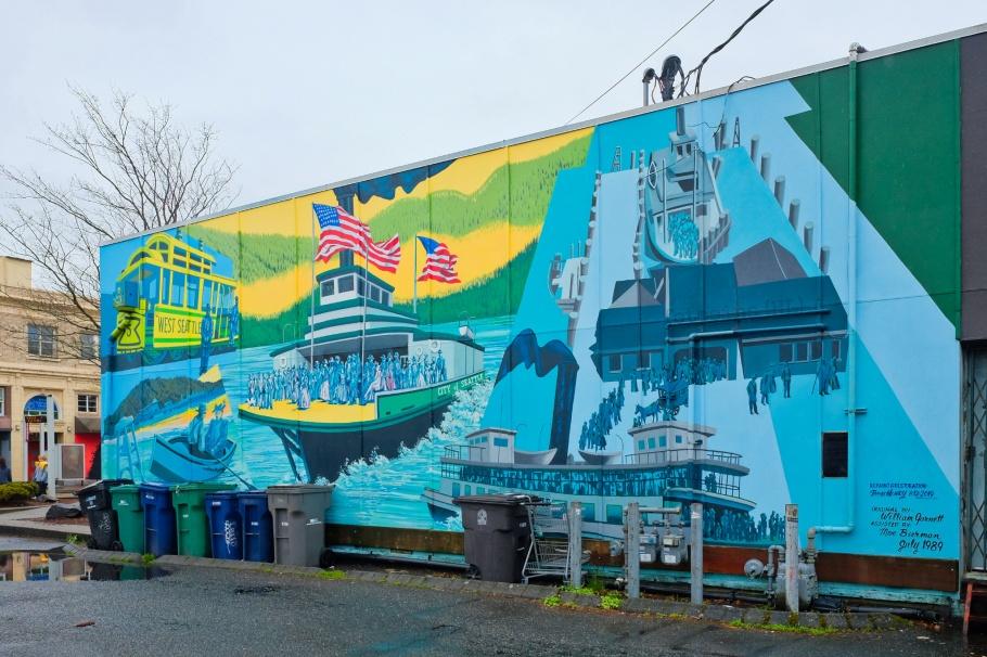 West Seattle Ferries, Bill Garnett, West Seattle, Seattle, Washington, USA, fotoeins.com