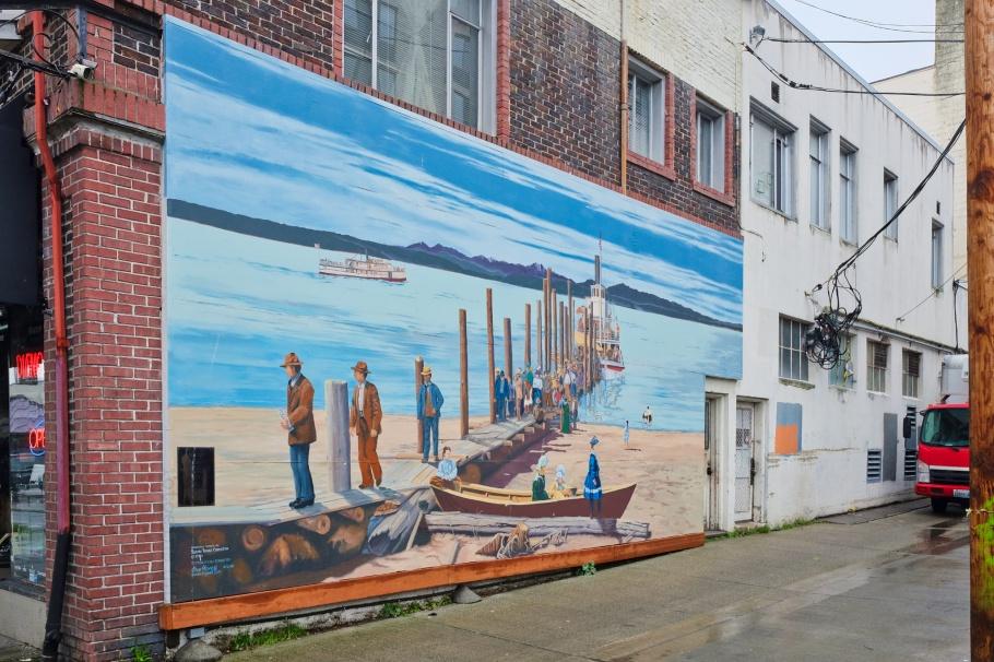 Mosquito Boat Landing, Susan Tooke, West Seattle, Seattle, Washington, USA, fotoeins.com