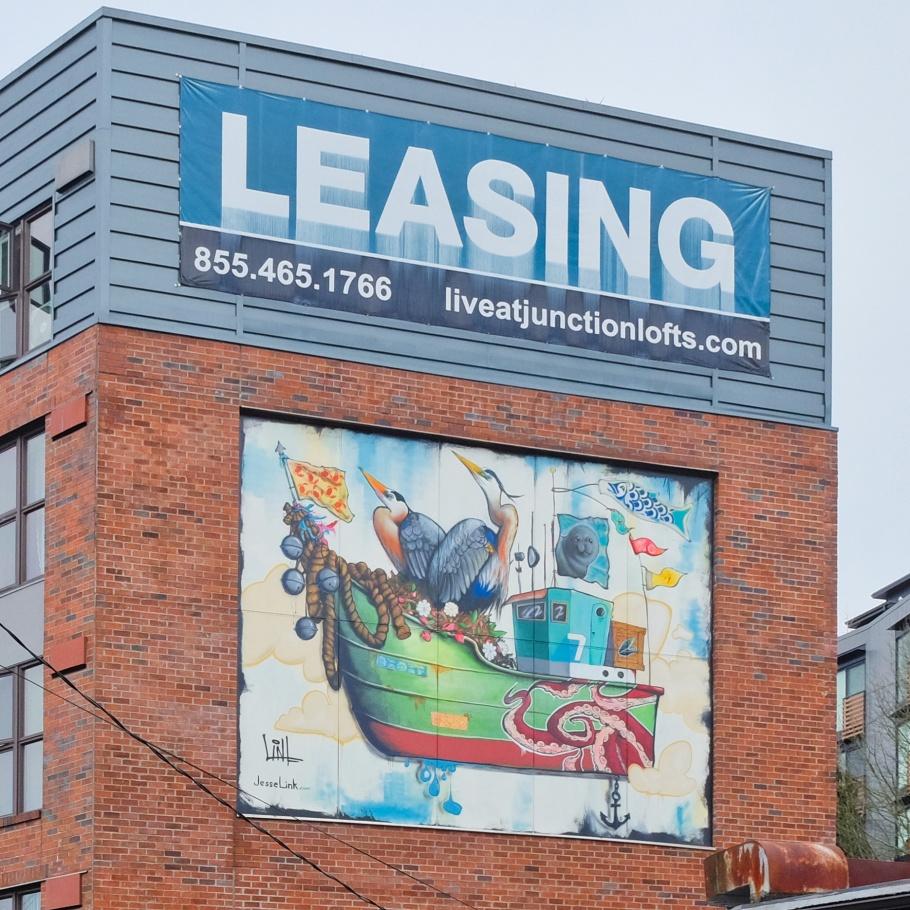 West Seattle Lofts, Boat no.7, Jesse Link, West Seattle, Seattle, Washington, USA, fotoeins.com