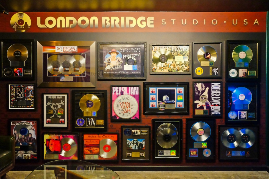 Temple of the Dog, Soundgarden, London Bridge Studio, recording studio, Shoreline, Seattle, WA, USA, fotoeins.com