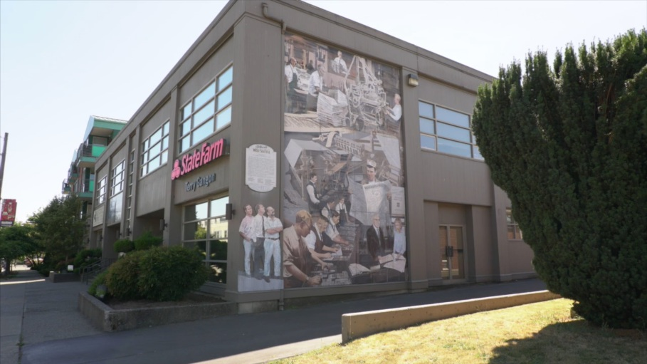 Vimeo, West Seattle Junction, Seattle, Washington, USA, fotoeins.com