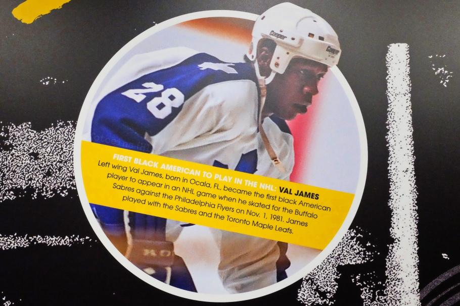 NHL Black Hockey History Tour, black hockey, black hockey history, Jimi Hendrix Park, Northwest African American Museum, Seattle, Washington, USA, fotoeins.com