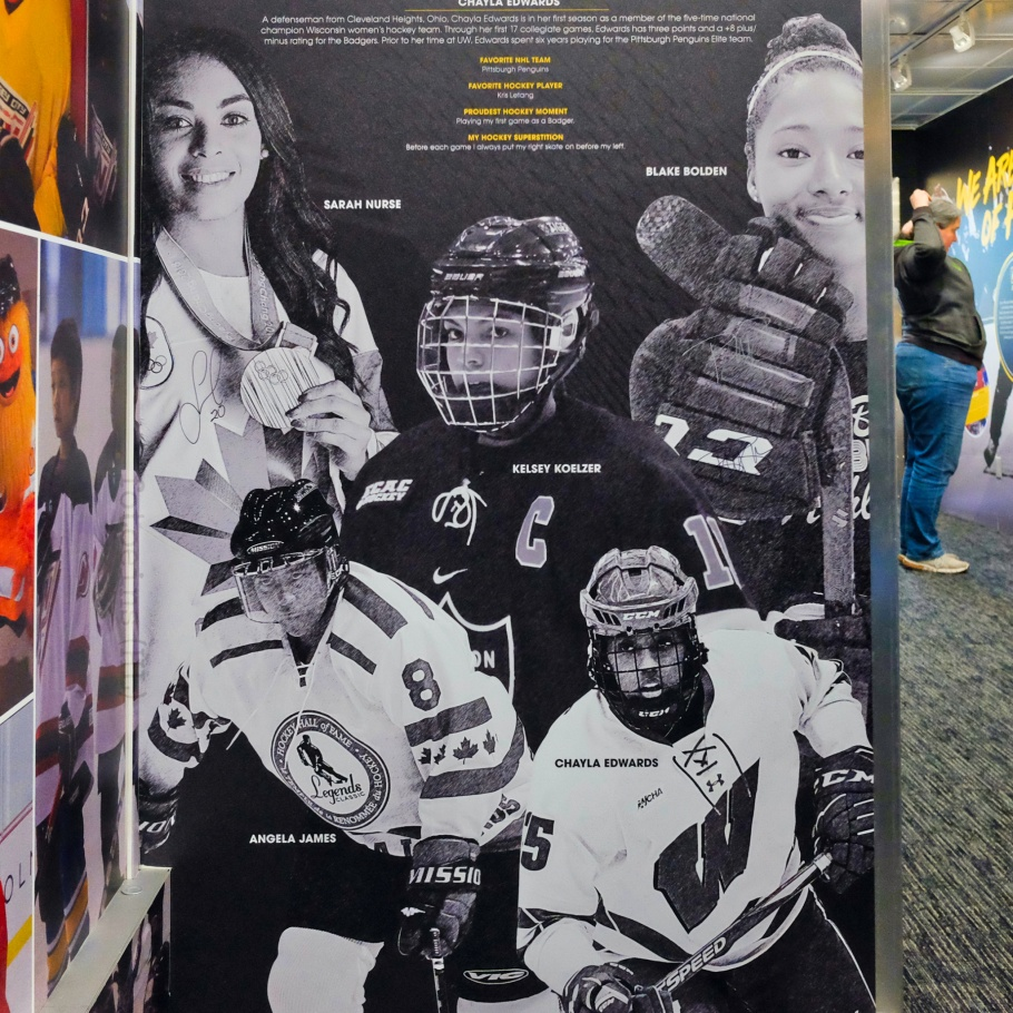 NHL Black Hockey History Tour, black hockey, black hockey history, Jimi Hendrix Park, Northwest African American Museum, Seattle, Washington, USA, fotoeins.com