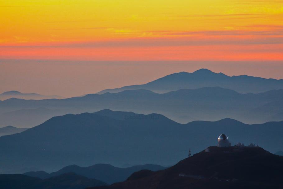 Cerro Pachon, Gemini Observatory South, Gemini South, Cerro Tololo, Region de Coquimbo, Chile, fotoeins.com