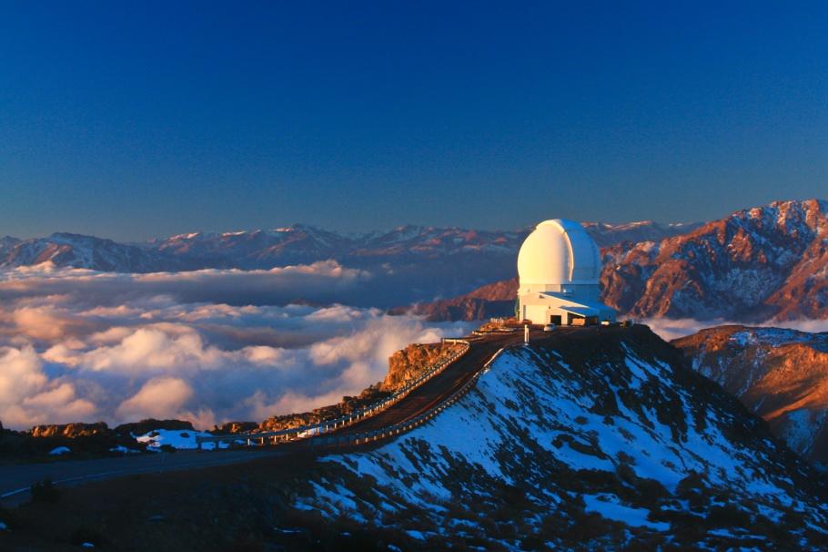 SOAR, Cerro Pachon, Gemini Observatory South, Gemini South, Region de Coquimbo, Chile, fotoeins.com