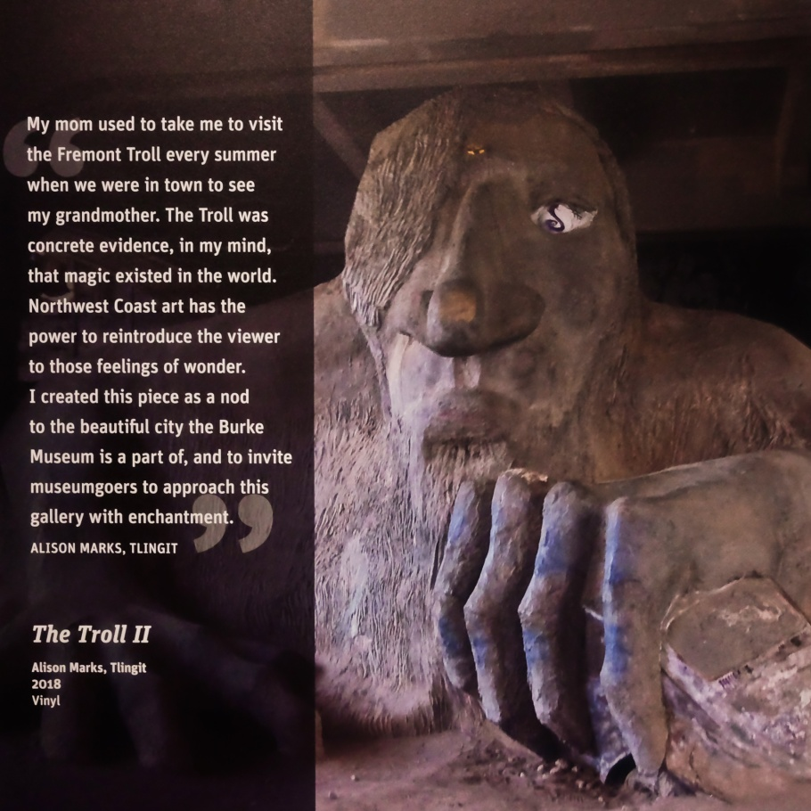 The Troll II, Alison Marks, Tlingit, The Troll, Fremont, Burke Museum of Natural History and Culture, University of Washington, Seattle, WA, USA, fotoeins.com