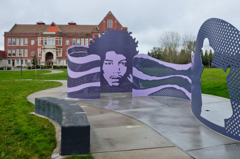 Jimi Hendrix Park, Northwest African American Museum, Central District, Seattle, WA, USA, fotoeins.com