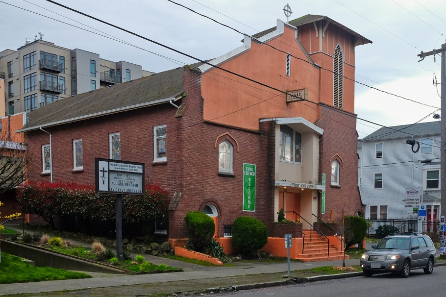 First African Methodist Episcopal Church, Capitol Hill, Central District, Seattle, WA, USA, fotoeins.com