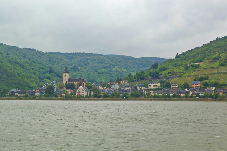 Lorch am Rhein, Rhein, Rhine, Oberes Mittelrheintal, Upper Middle Rhine Valley, Germany, Deutschland, fotoeins.com