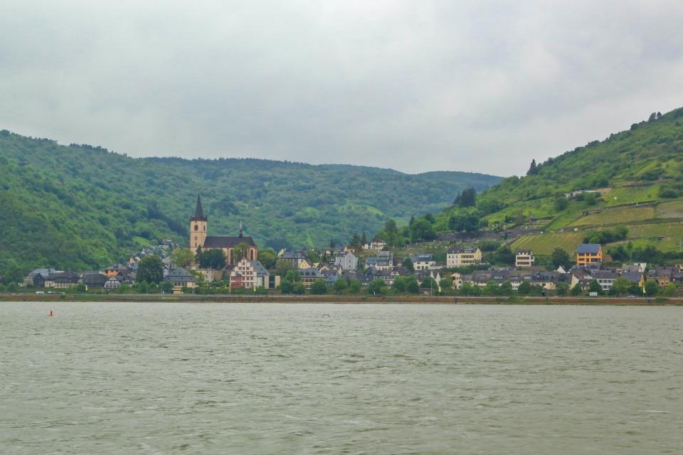 Lorch am Rhein, Rhein, Rhine, Oberes Mittelrheintal, Upper Middle Rhine Valley, Germany, Deutschland, fotoeins.com