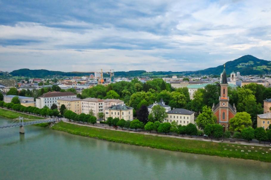Humboldtterrasse, Moenchsberg, Salzburg, Oesterreich, Austria, fotoeins.com