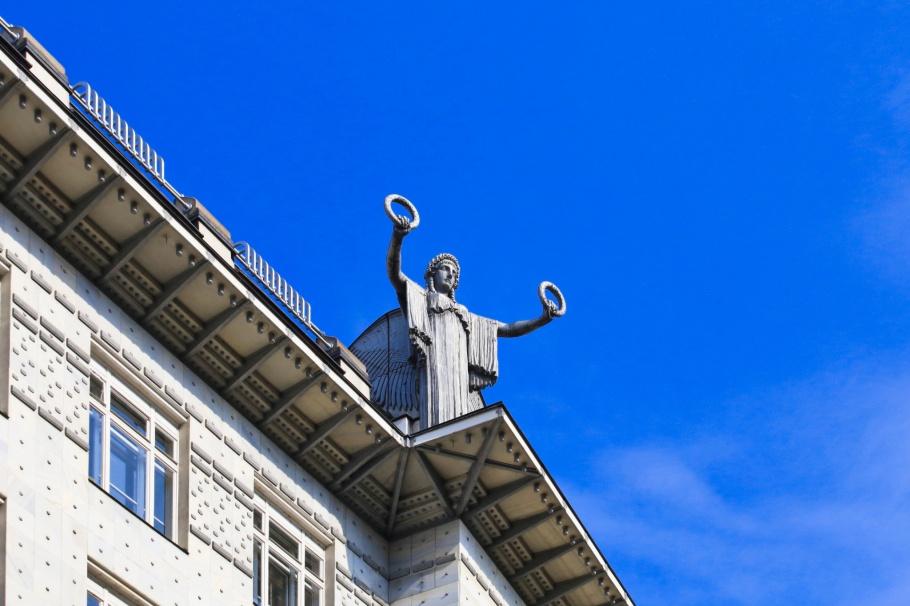 Othmar Schimkowitz, Österreichische Postsparkasse, Austria Post Savings Bank, Otto Wagner, Vienna Modernism, Wiener Moderne, Wien, Vienna, Oesterrich, Austria, fotoeins.com