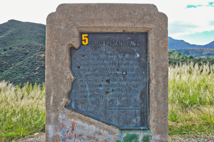 AZ-77, Pinal Pass, El Capitan Pass, Tonto National Forest, Arizona, USA, fotoeins.com