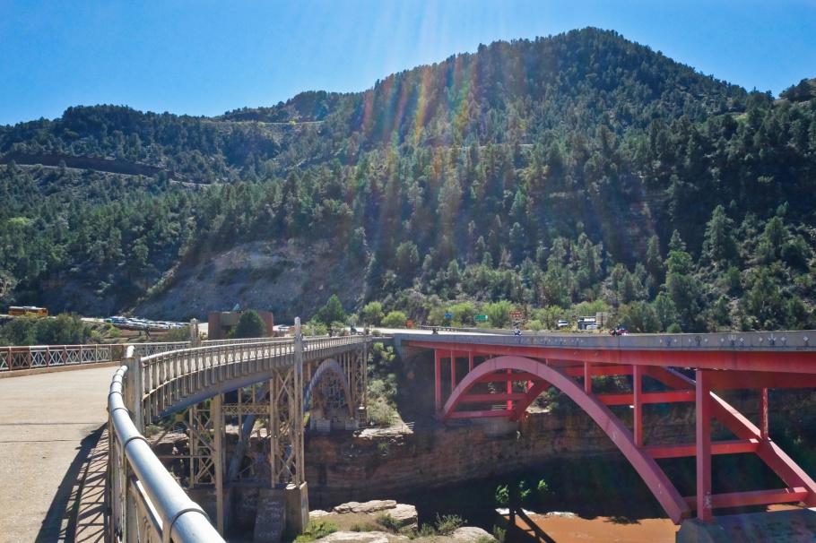 AZ 77, US 60, Salt River, Salt River Canyon Bridge, Salt River Canyon Rest Area, Arizona, USA, fotoeins.com