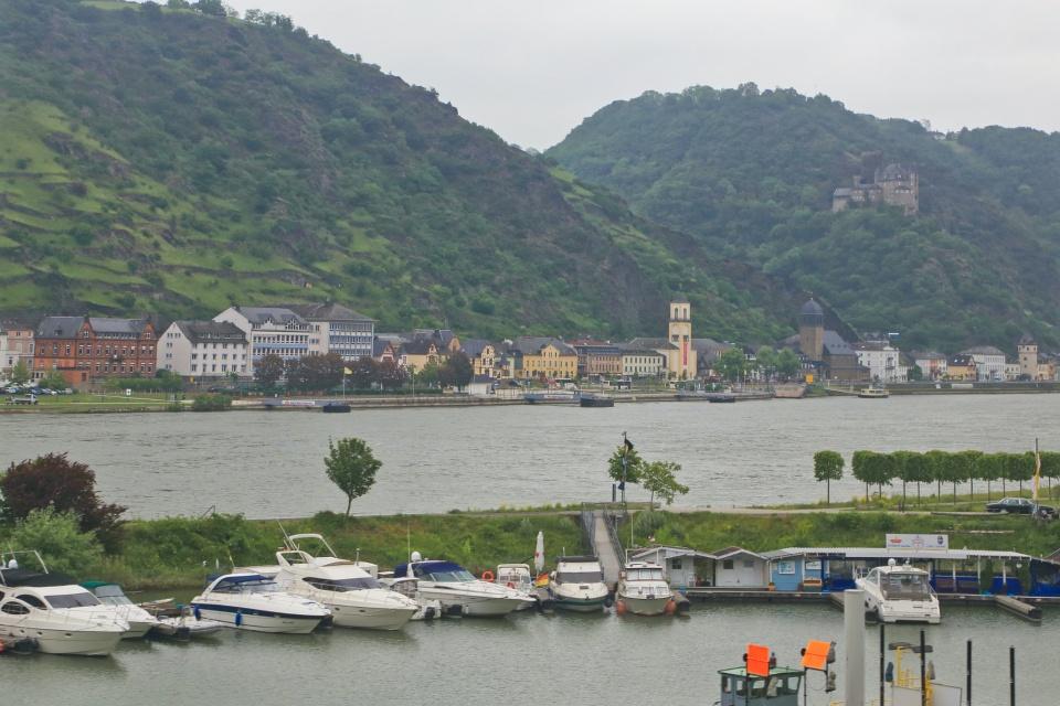 St. Goarshausen, Burg Katz, Rhein, Rhine, Oberes Mittelrheintal, Upper Middle Rhine Valley, Germany, Deutschland, fotoeins.com