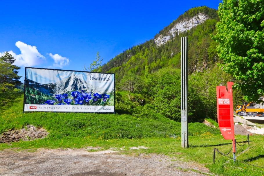 Stelenstrasse, Scharnitz, Tirol, Tyrol, Austria, Oesterreich, Mittenwald, Bavaria, Bayern, Oberbayern, Upper Bavaria, Germany, Deutschland, fotoeins.com