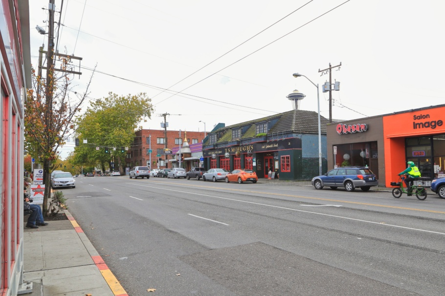 Space Needle, Lower Queen Anne, Seattle, Washington, USA, fotoeins.com