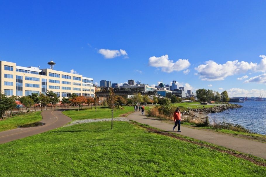Centennial Park, Puget Sound, Salish Sea, Seattle, Washington, USA, fotoeins.com