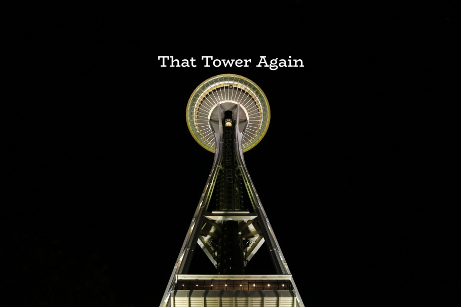 Space Needle, Seattle Center, Seattle, Washington, USA, fotoeins.com