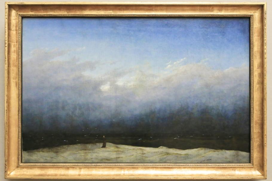Der Mönch am Meer, The Monk by the Sea, Caspar David Friedrich, Alte Nationalgalerie, Berlin, Germany, Deutschland, fotoeins.com