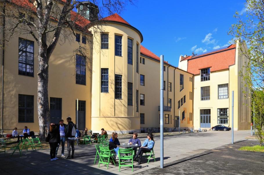Bauhaus University, Großherzoglich-Sächsische Kunstschule, Bauhaus, Bauhaus 100, Weimar, Thuringia, Thueringen, Germany, Deutschland, fotoeins.com